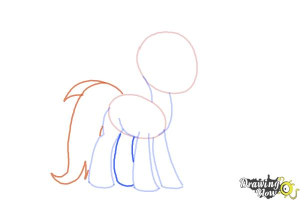 How to Draw Trixie Lulamoon from My Little Pony Friendship Is Magic - Step 4