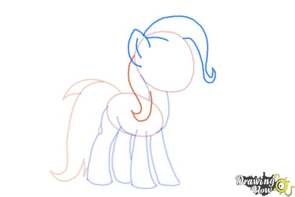 How to Draw Trixie Lulamoon from My Little Pony Friendship Is Magic - Step 5