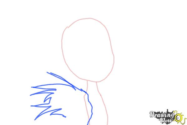 How to Draw Clawvenus from Monster High Freaky Fusion - Step 2