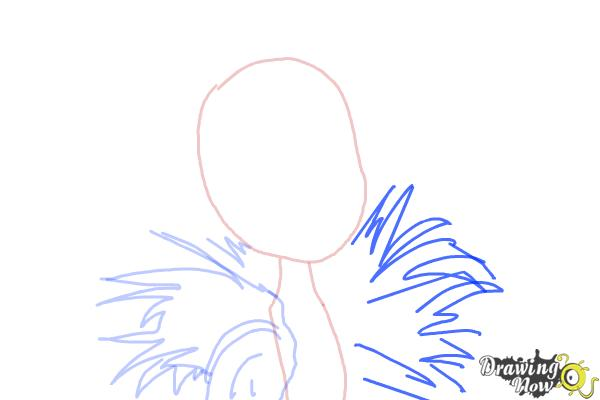 How to Draw Clawvenus from Monster High Freaky Fusion - Step 4
