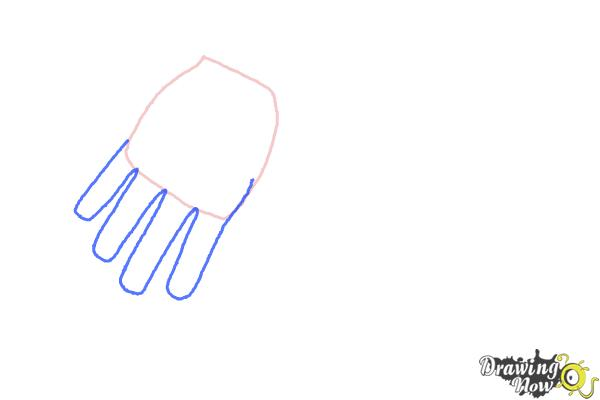 How to Draw Body Parts - Step 2