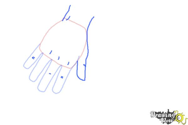 How to Draw Body Parts - Step 3