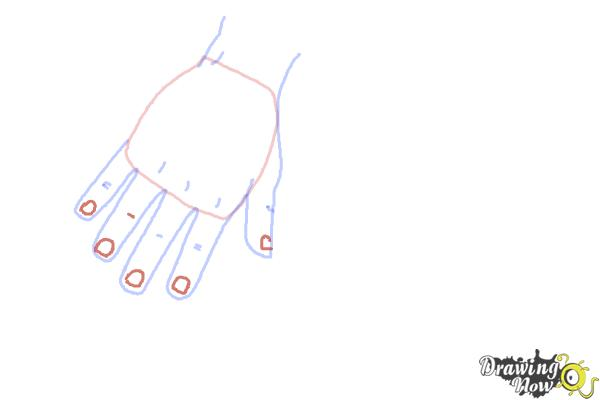 How to Draw Body Parts - Step 4