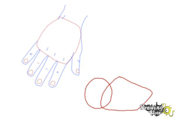 How to Draw Body Parts - Step 5