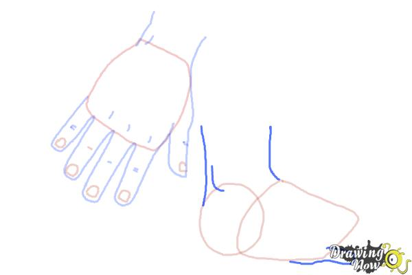 How to Draw Body Parts - Step 6