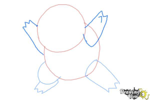 How to Draw Chibi Pokemon - Step 3
