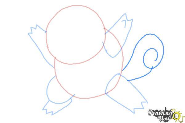 How to Draw Chibi Pokemon - Step 4