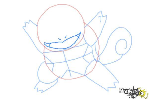 How to Draw Chibi Pokemon - Step 6