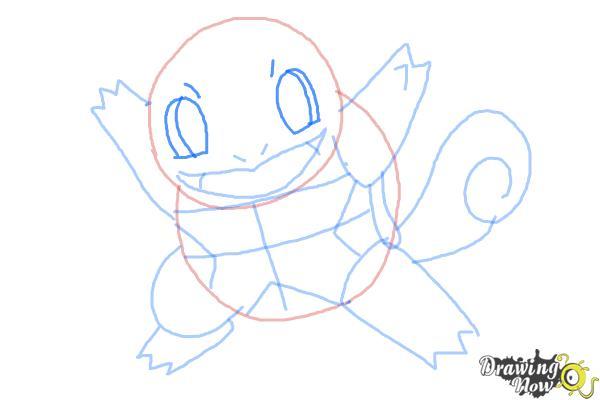 How to Draw Chibi Pokemon - Step 7