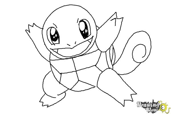 How to Draw Chibi Pokemon - Step 8