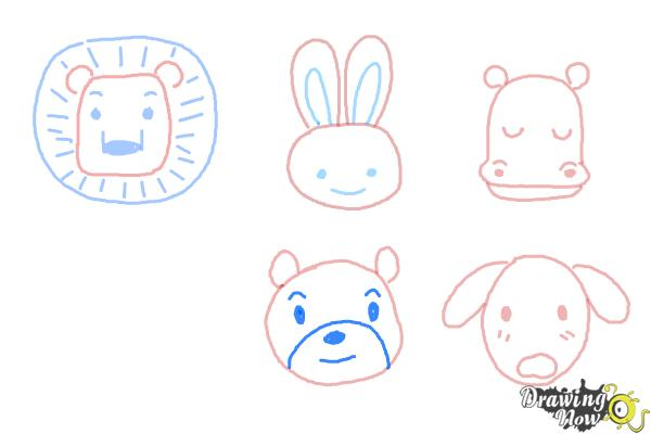 How to Draw Animals for Kids - Step 10