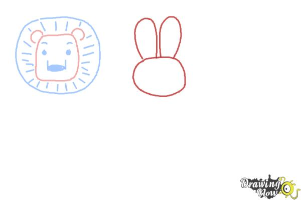 How to Draw Animals for Kids - Step 3