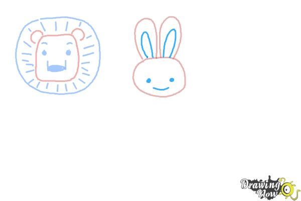How to Draw Animals for Kids - Step 4