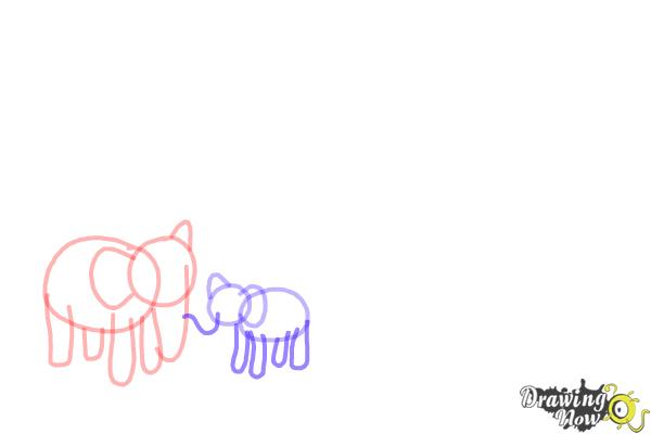 How to Draw a Zoo - Step 4