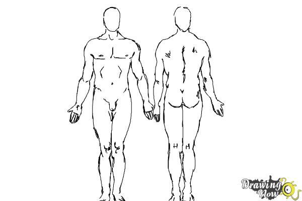How to Draw Bodies - Step 10