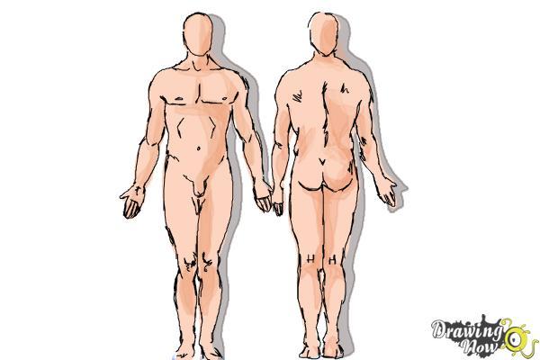 How to Draw Bodies - Step 11