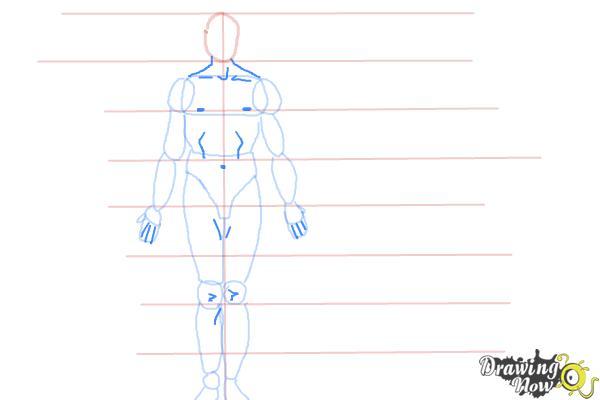 How to Draw Bodies - Step 6