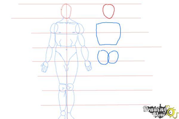 How to Draw Bodies - Step 7