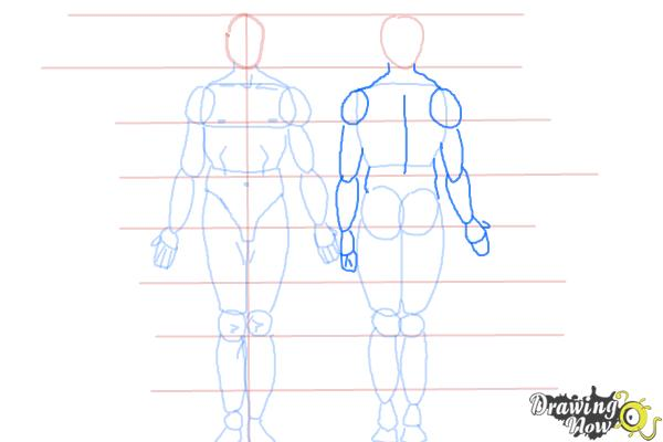 How to Draw Bodies - Step 9