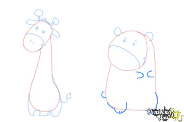 How to Draw Cute Animals - Step 10
