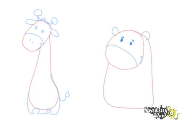 How to Draw Cute Animals - Step 9
