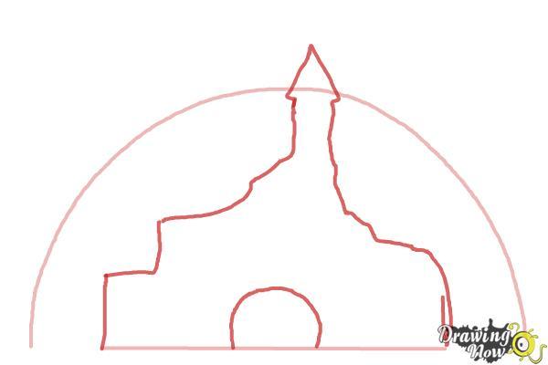 How to Draw The Disney Logo - Step 2