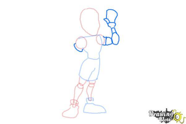 How to Draw a Cartoon Body - Step 6