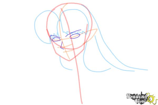 How to Draw Sesshomaru from Inuyasha - Step 5