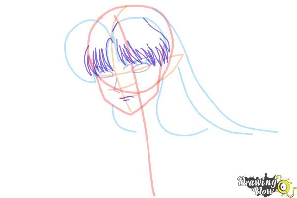 How to Draw Sesshomaru from Inuyasha - Step 6