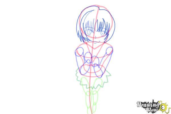 How to Draw a Neko - Step 10