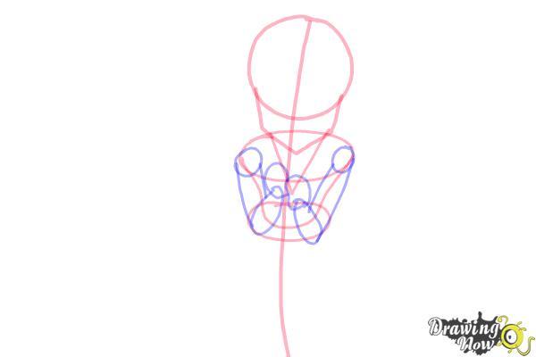 How to Draw a Neko - Step 6