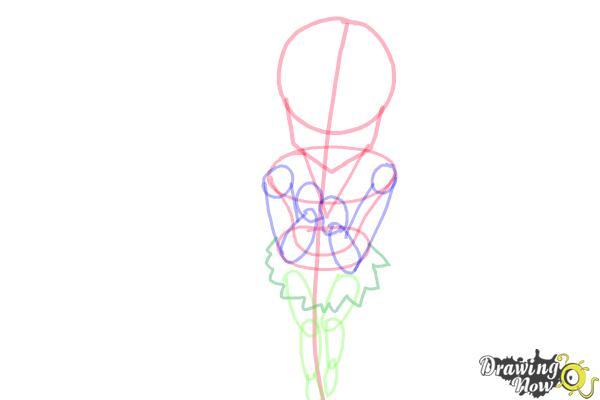 How to Draw a Neko - Step 7