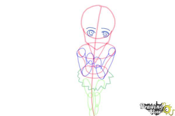 How to Draw a Neko - Step 8