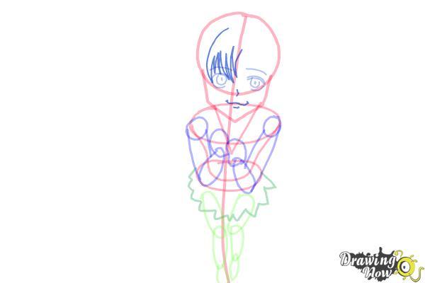 How to Draw a Neko - Step 9