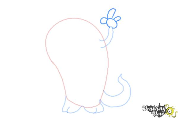 How to Draw a Cute Monster - Step 4