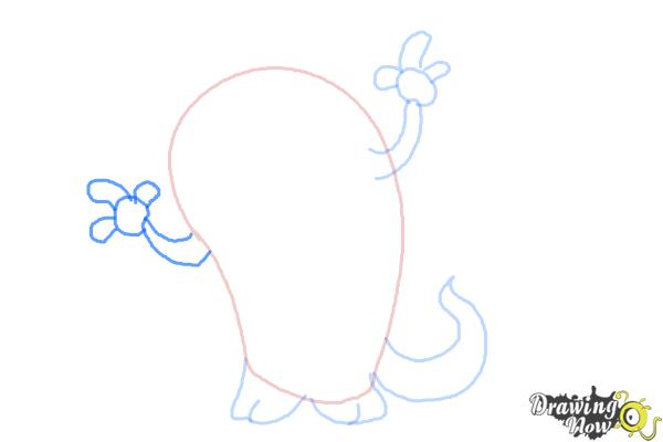 How to Draw a Cute Monster - Step 5