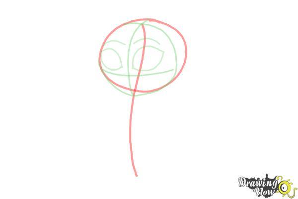 How to Draw Chibi Cinderella - Step 3
