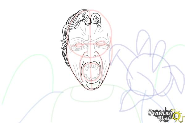 How to Draw a Weeping Angel from Doctor Who - Step 10