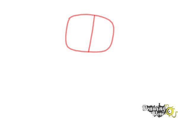 How to Draw Chibi Aurora - Step 1