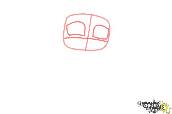 How to Draw Chibi Aurora - Step 2