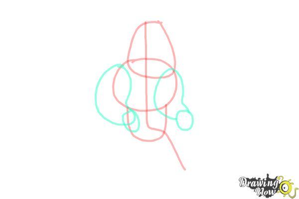 How to Draw Joe, Joseph Swanson from Family Guy - Step 3
