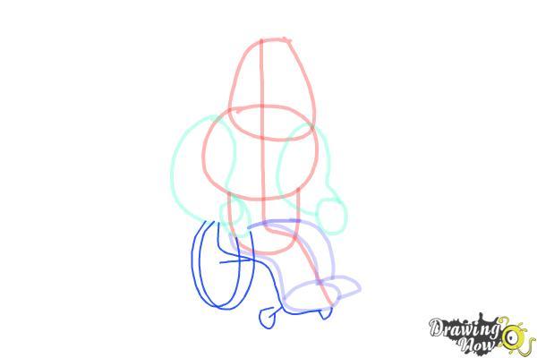 How to Draw Joe, Joseph Swanson from Family Guy - Step 5