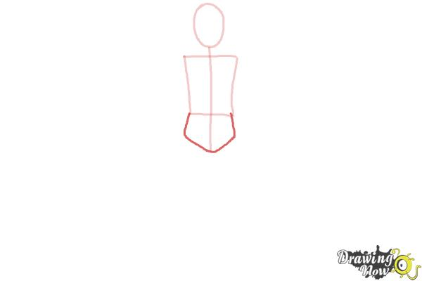 How to Draw a Body Outline - Step 3