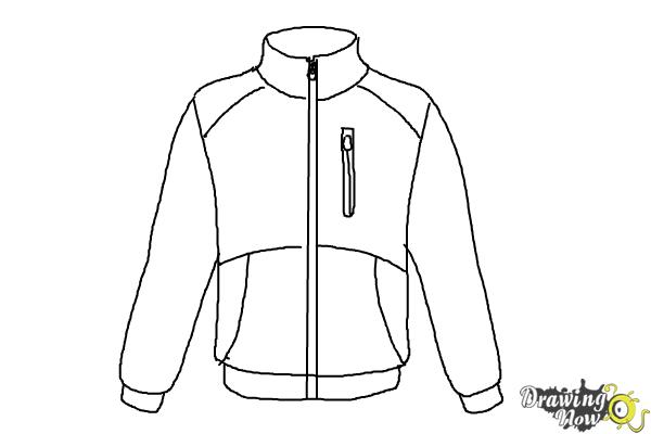 How To Draw A Jacket Drawingnow
