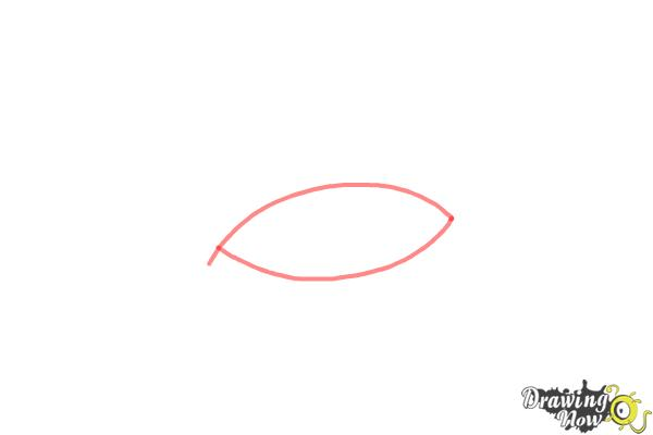 How to Draw an Eye Step by Step - Step 1