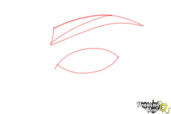 How to Draw an Eye Step by Step - Step 3