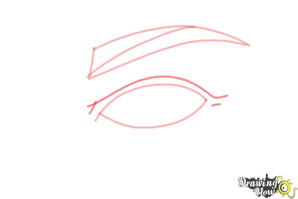 How to Draw an Eye Step by Step - Step 4