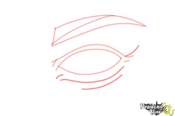 How to Draw an Eye Step by Step - Step 5