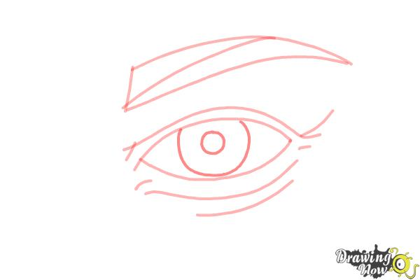 How to Draw an Eye Step by Step - Step 6
