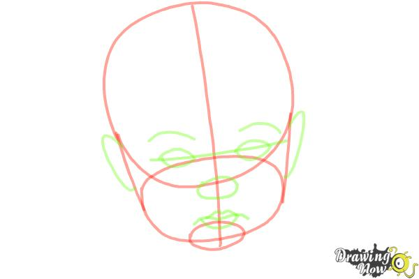 How to Draw a Baby Face - Step 4